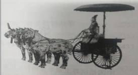 图1-1 古代的车